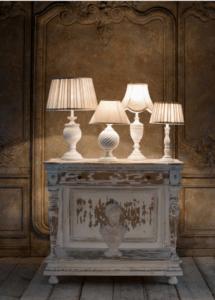 mobile con lampade shabby