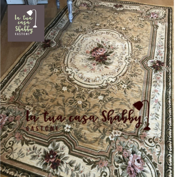 tappeto blanc mariclo 175x240 logo