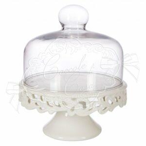 alzatina ashlee c cupola vetro d17xh21