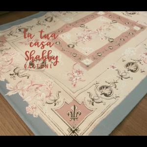 tappeto disegno floreale blanc mariclo